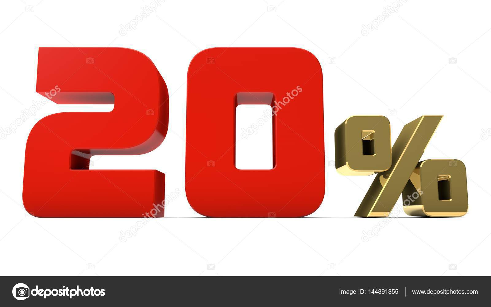 20 red gold percent sign number percentage symbol market 20 red gold percent sign number percentage symbol biocorpaavc Images