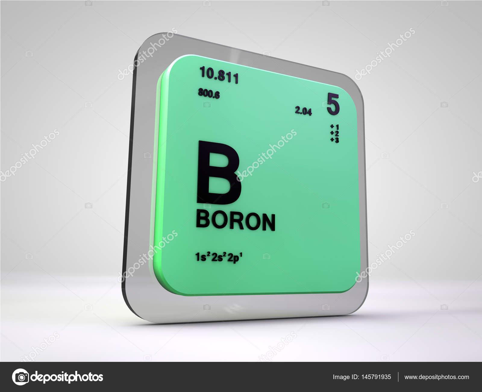 Boro b elemento qumico tabla peridica 3d render foto de boro b elemento qumico tabla peridica 3d render urtaz Images