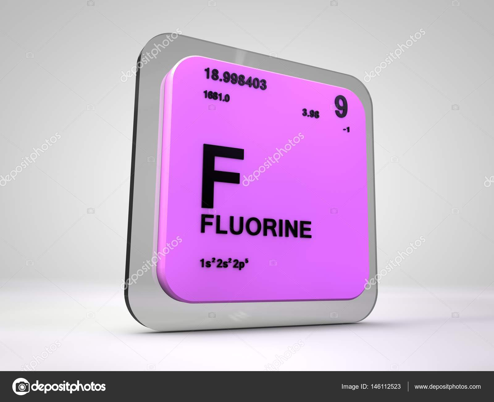 Flor f elemento qumico tabla peridica 3d render foto de flor f elemento qumico tabla peridica 3d render foto de stock urtaz Choice Image