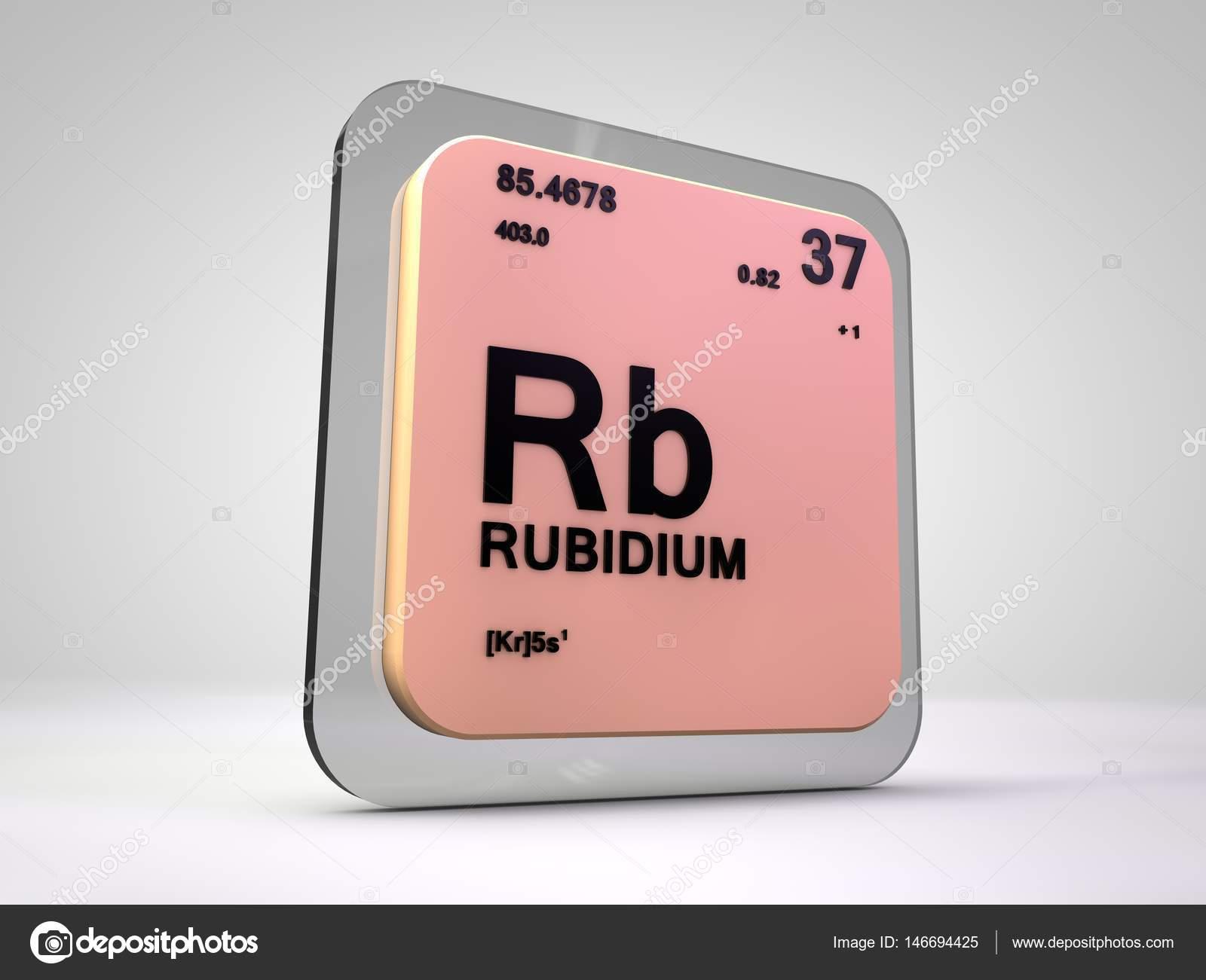 Rubidio rb elemento qumico tabla peridica 3d render foto de rubidio rb elemento qumico tabla peridica 3d render foto de stock urtaz Image collections