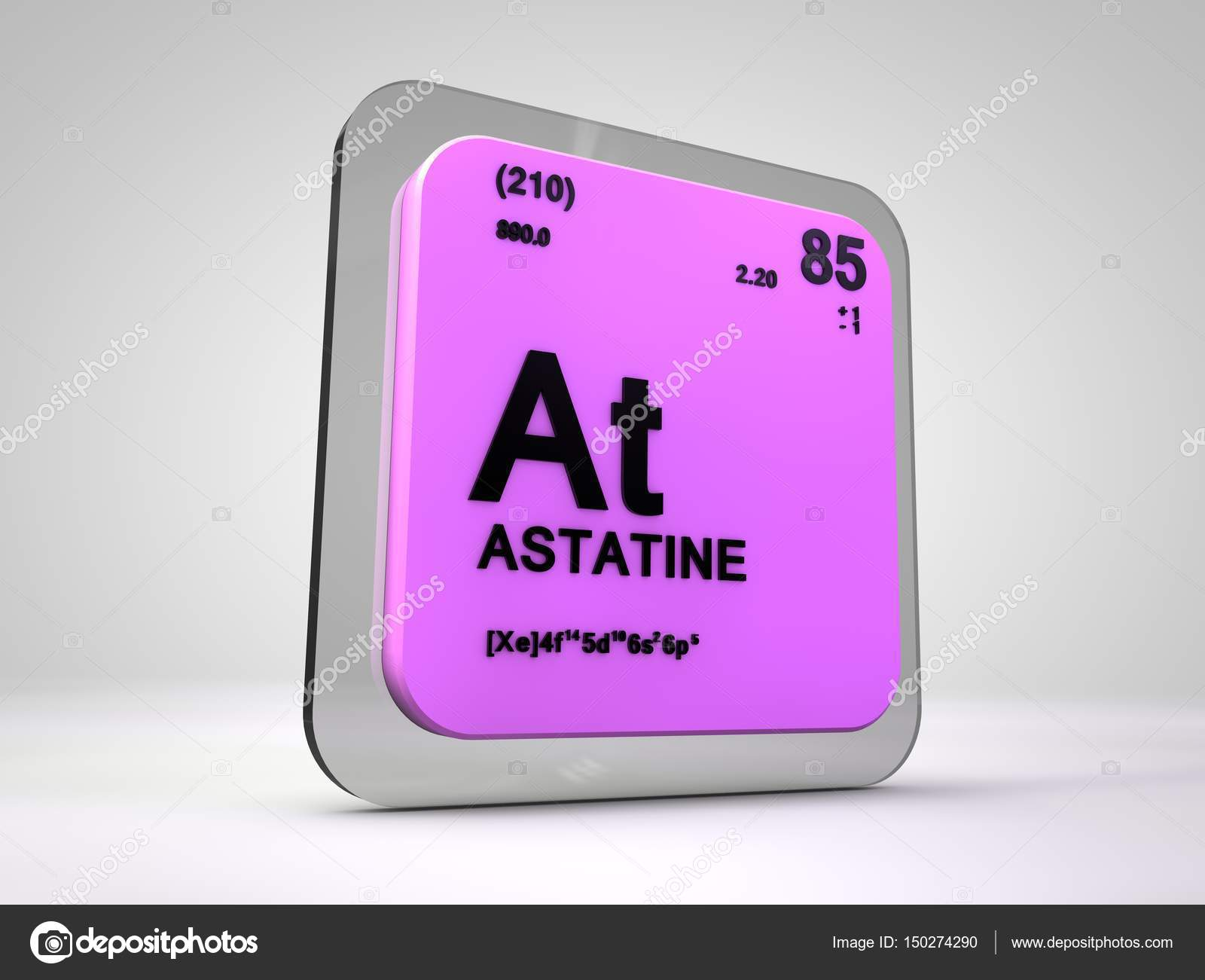 Astatine at chemical element periodic table 3d render stock astatine at chemical element periodic table 3d render photo by viking75 urtaz Gallery