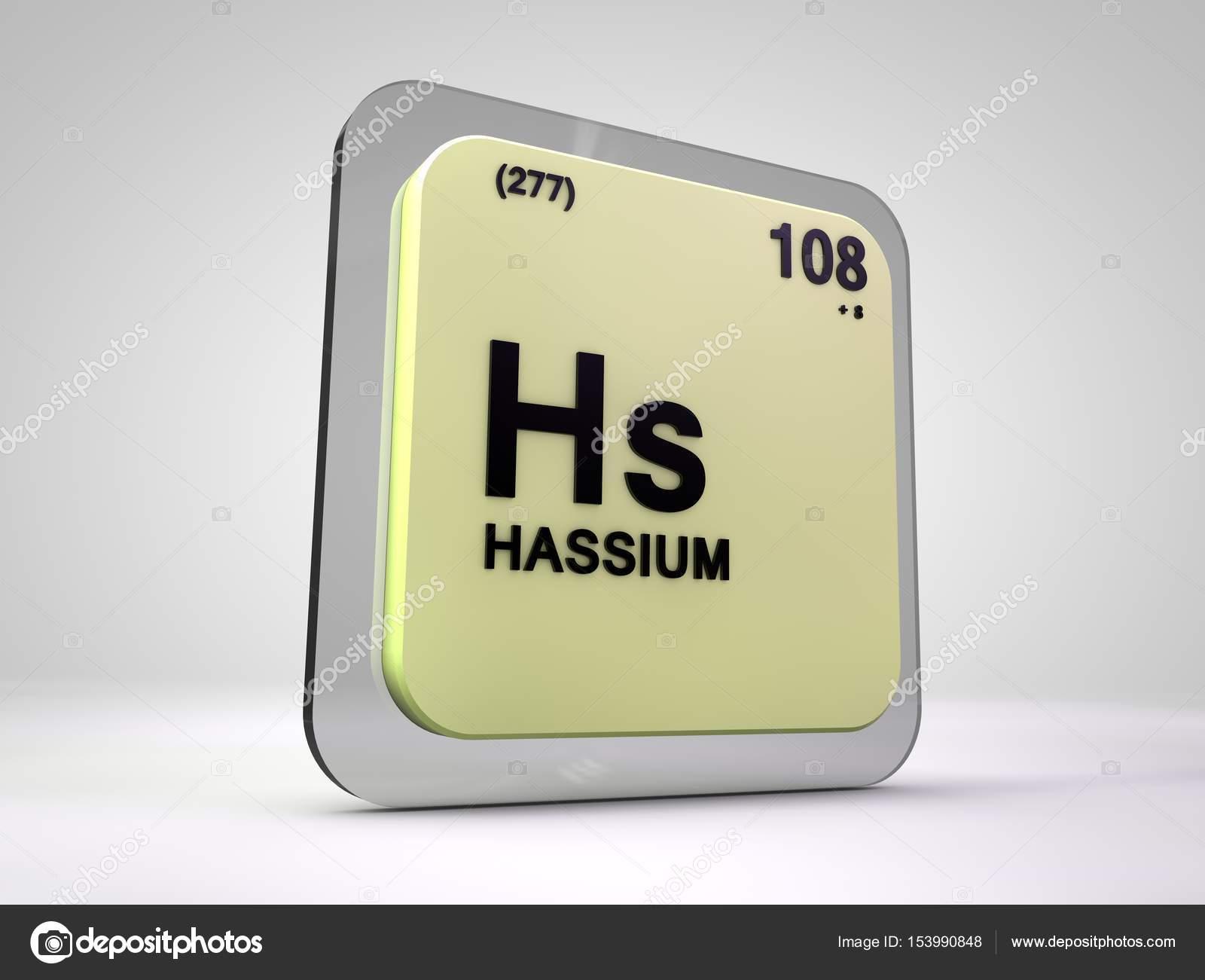 Ilustracin 3d de hassio hs elemento qumico tabla peridica ilustracin 3d de hassio hs elemento qumico tabla peridica fotos de stock urtaz Choice Image