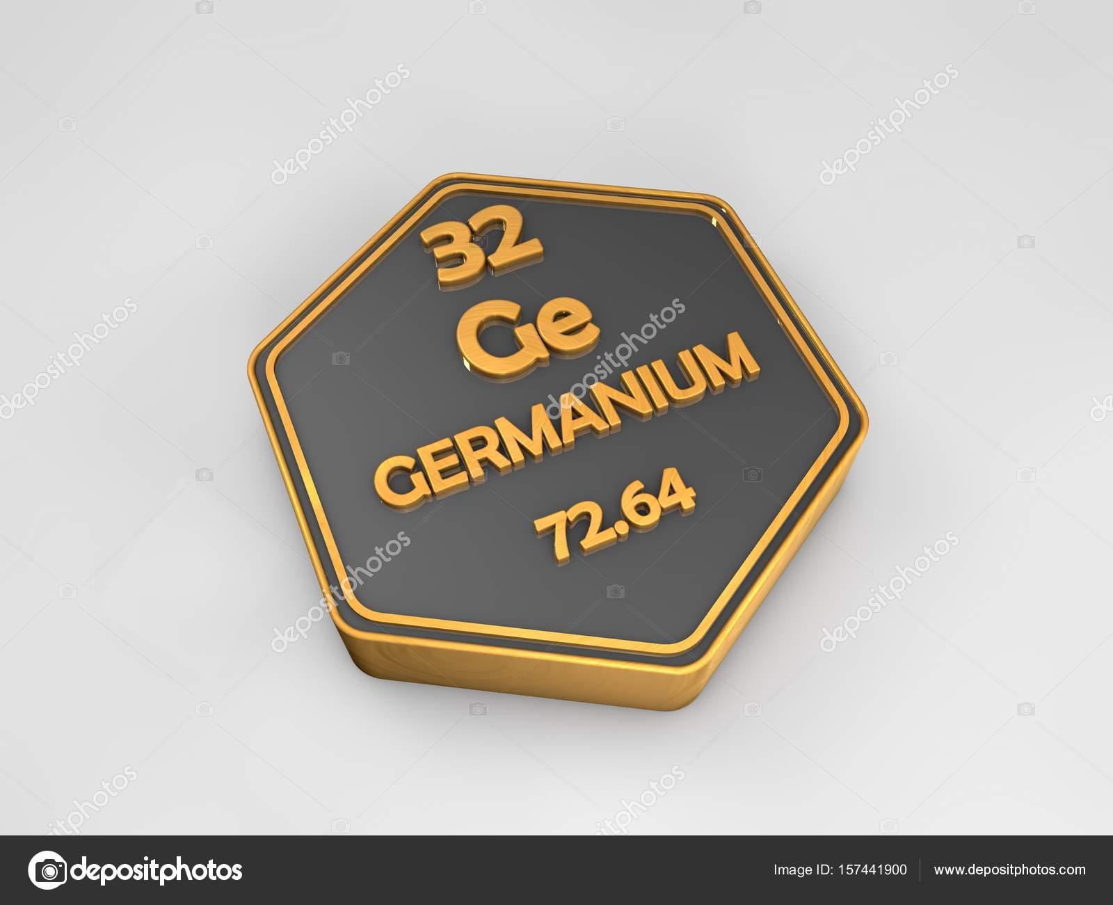 Germanio ge elemento qumico tabla peridica forma hexagonal 3d germanio ge elemento qumico tabla peridica forma hexagonal 3d render foto de stock urtaz Gallery