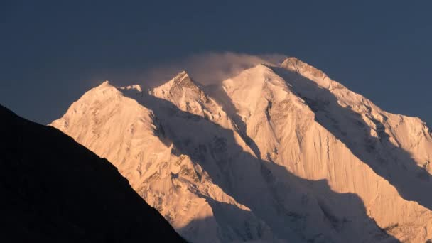 Rakaposhi mountain peak at Hunza valley, Karakoram range in northern Pakistan, Asia