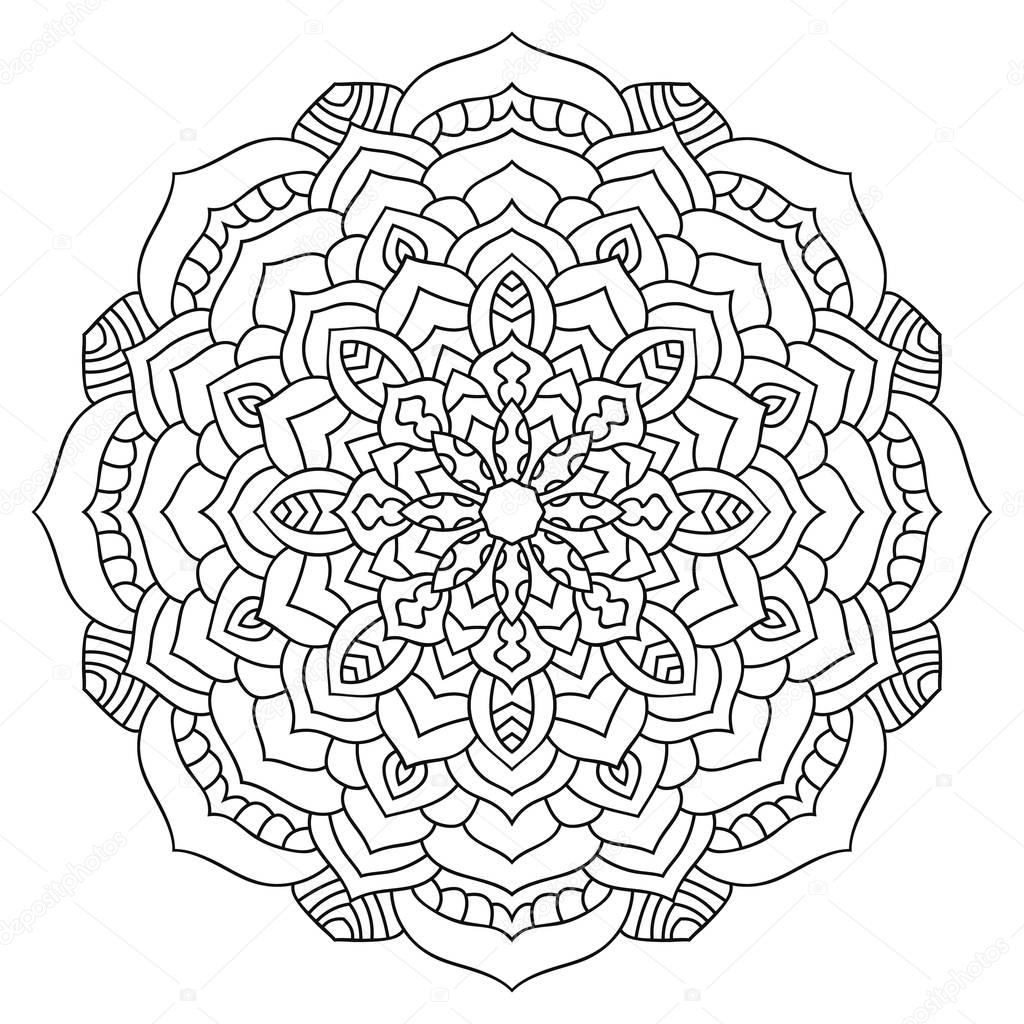 Exelent Coloriage Mandala Ethnique Triangle Celte Image - Coloring ...