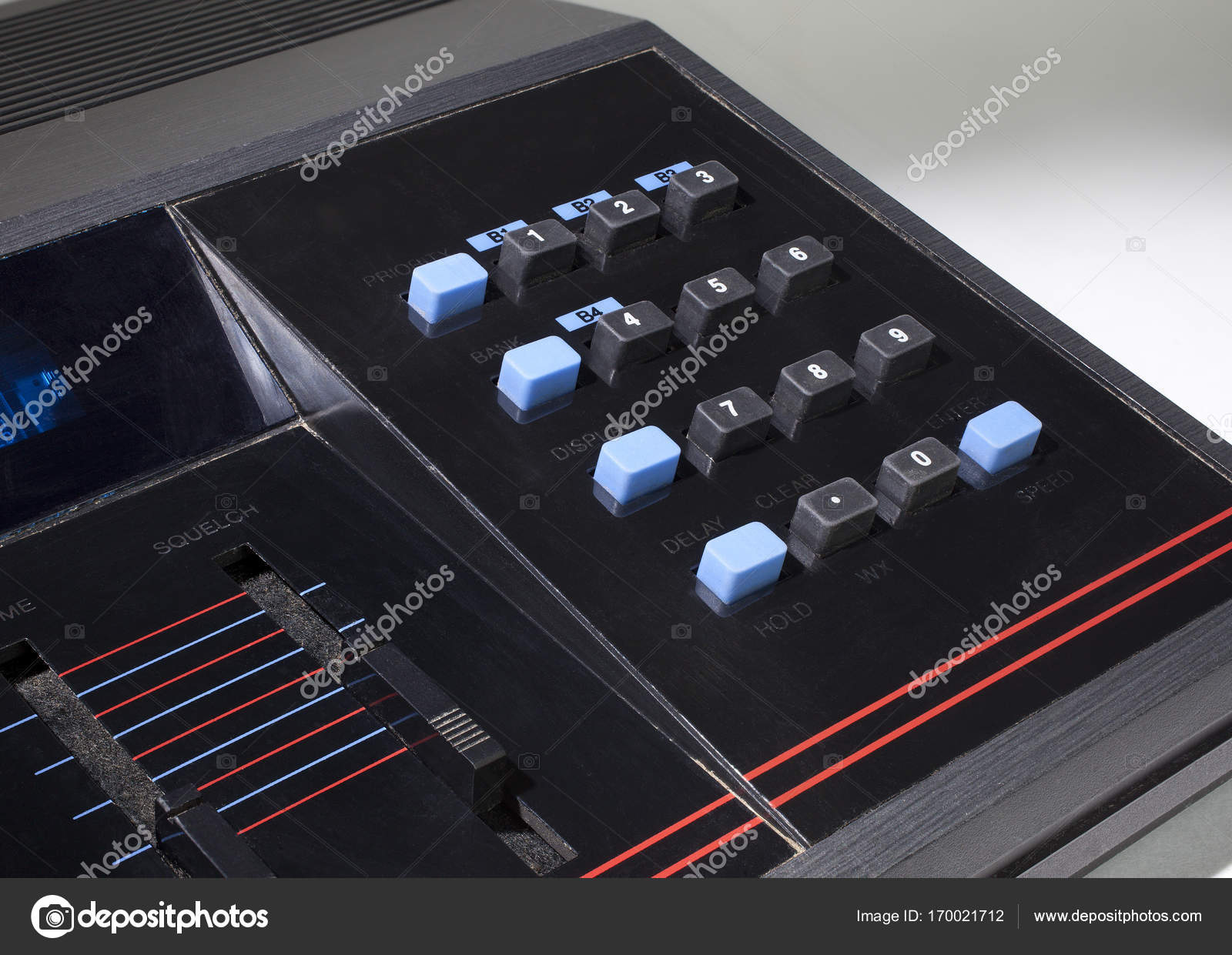 Old scanner keypad — Stock Photo © gsagi #170021712