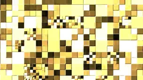 Video krásných linií, které září, světlo, které reguluje pohyb v plné barvě