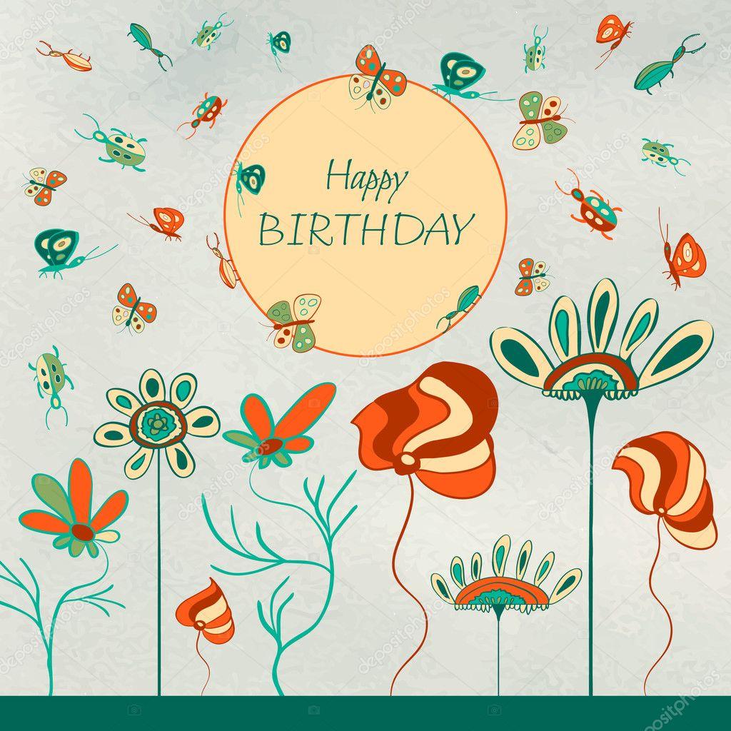 Kids birthday card