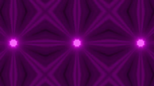 4K violett lila Looping Kaleidoskop Filmmaterial Hintergrund für Veranstaltung, Konzert, Titel, Präsentation, Website, DVD, Musikvideos, Videokunst, Hintergrund für Party