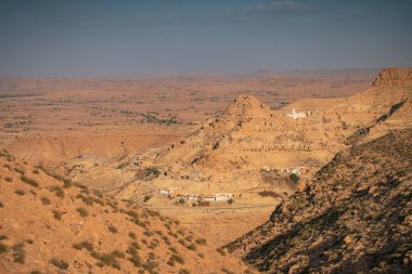 Chenini is a ruined Berber village in the Tataouine district in southern Tunisia