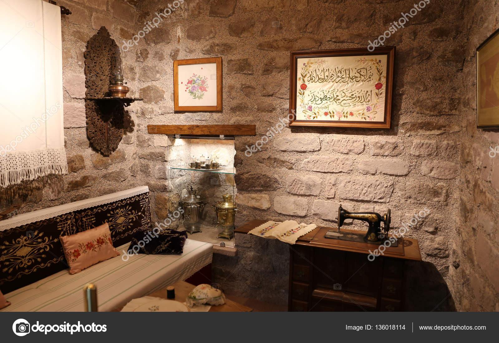 Loisirs de maison turque traditionnelle — Photo éditoriale ...