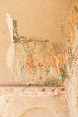 Inside of a Cave Church, Cappadocia, Turkey