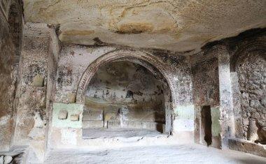 """Картина, постер, плакат, фотообои """"Внутри Церковь Святого Иоанна Крестителя, Каппадокии, Турция"""", артикул 162421480"""