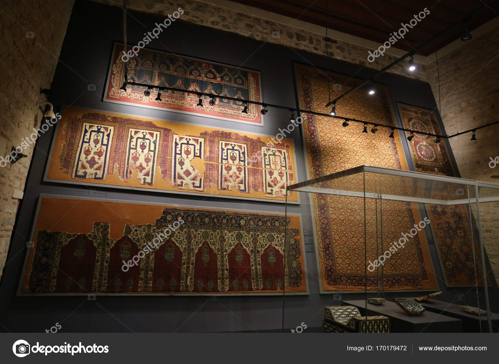 Turkish and Islamic Arts Museum in Istanbul – Stock