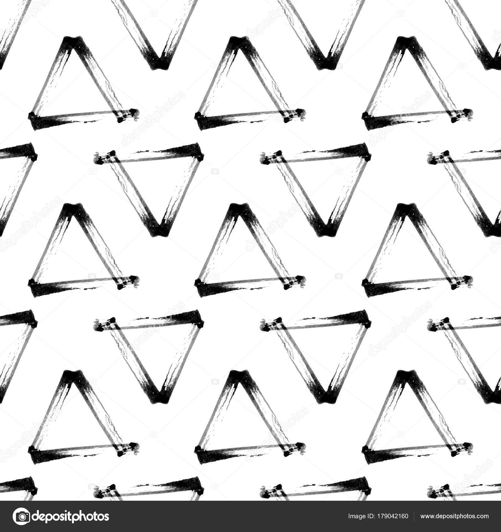 Abstrakte nahtlose Hand gezeichnete Muster. Modernen Grunge Texturen ...