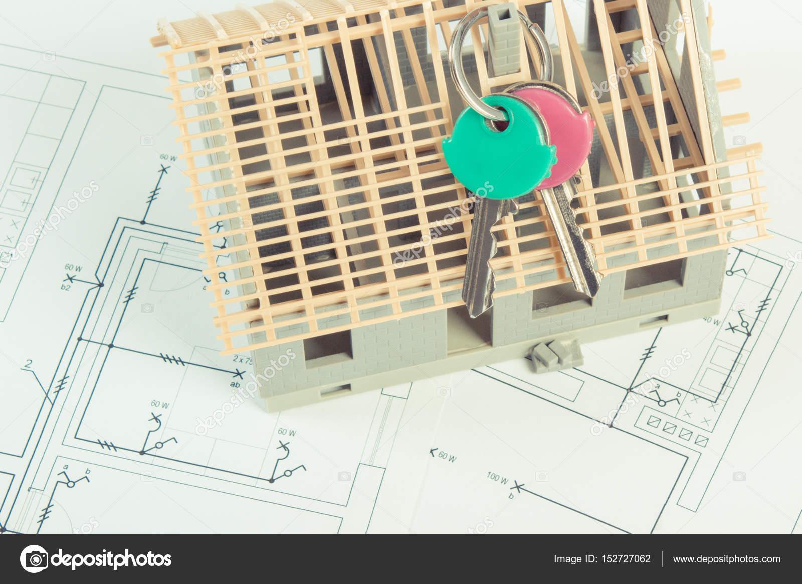 Schemi Elettrici Per Casa : Schemi elettrici e schemi con casa in costruzione e casa chiavi