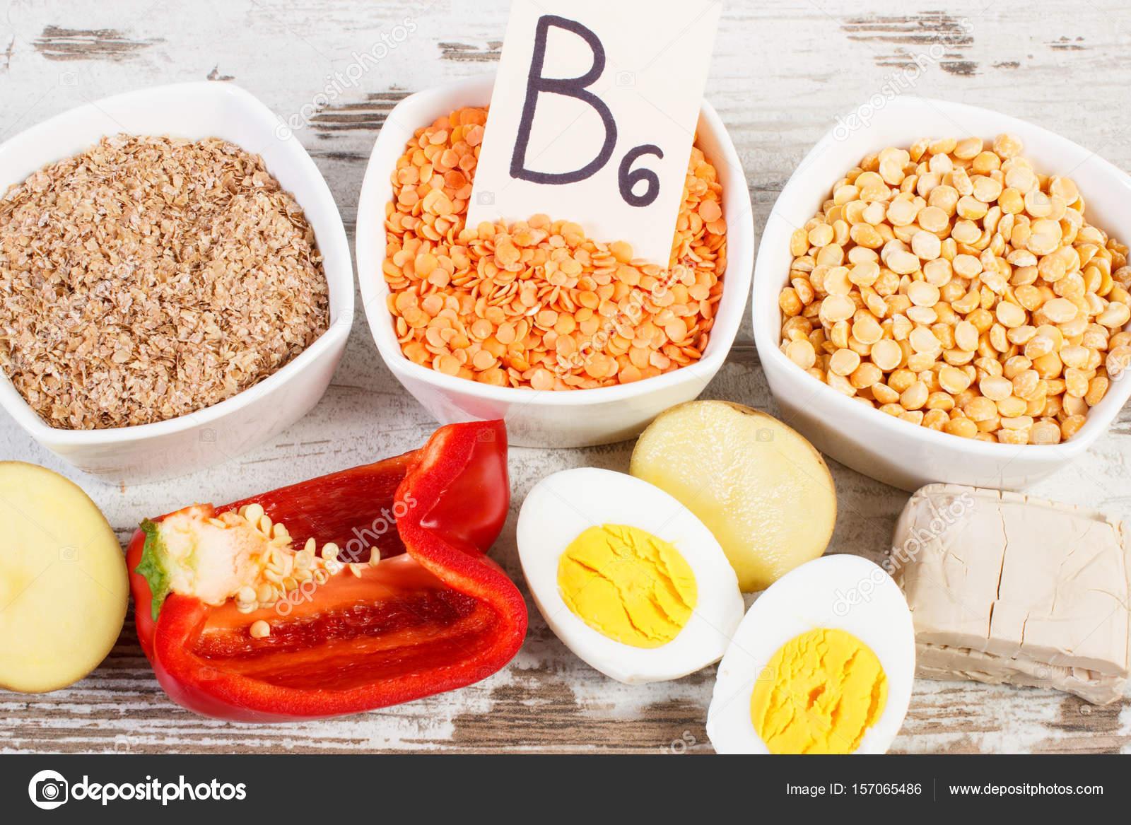 B6 Vitamini Bulunan Yiyecekler