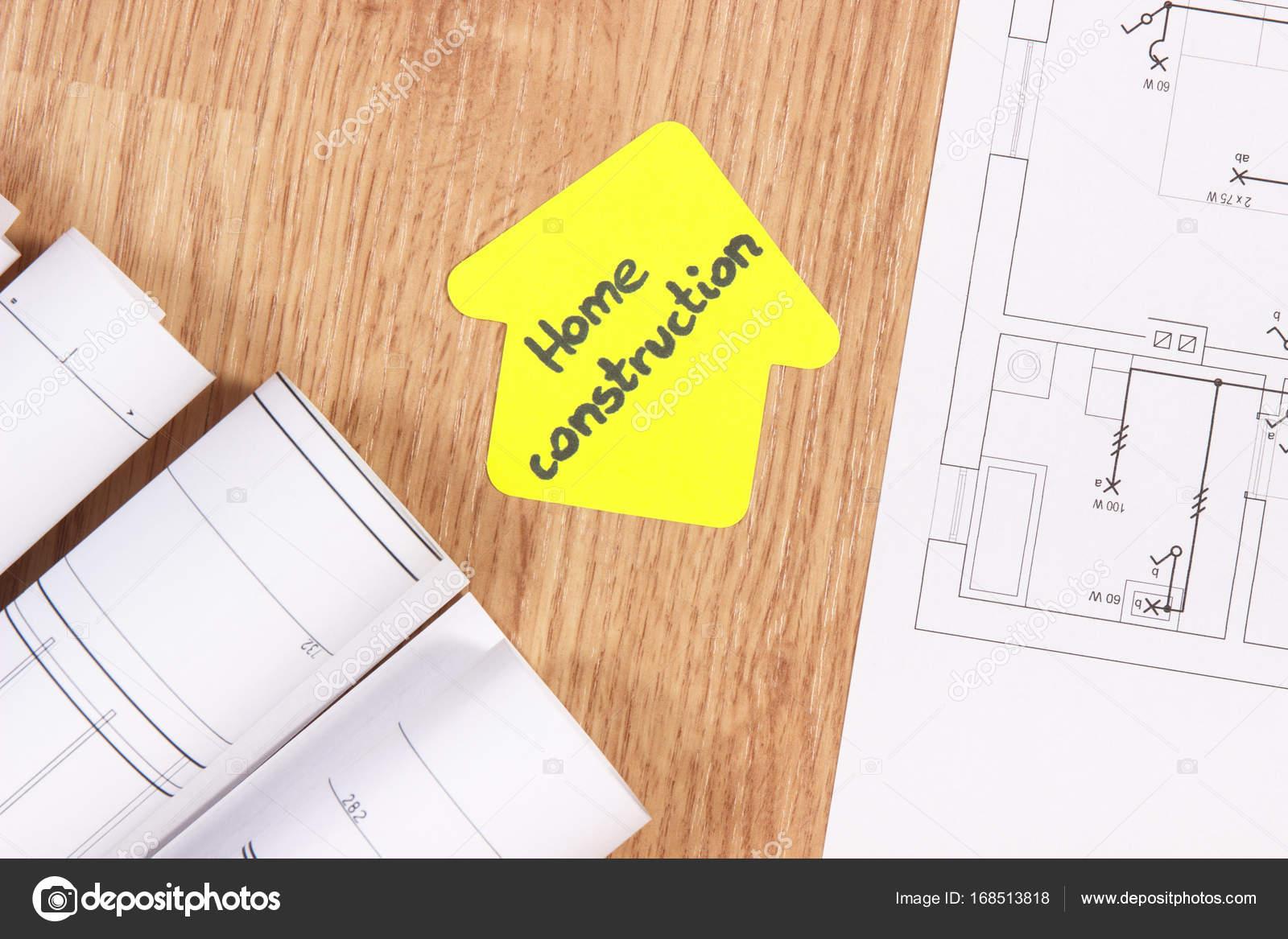 Schemi Elettrici Casa : Casa forma con testo casa conctruction casa concetto costruzione