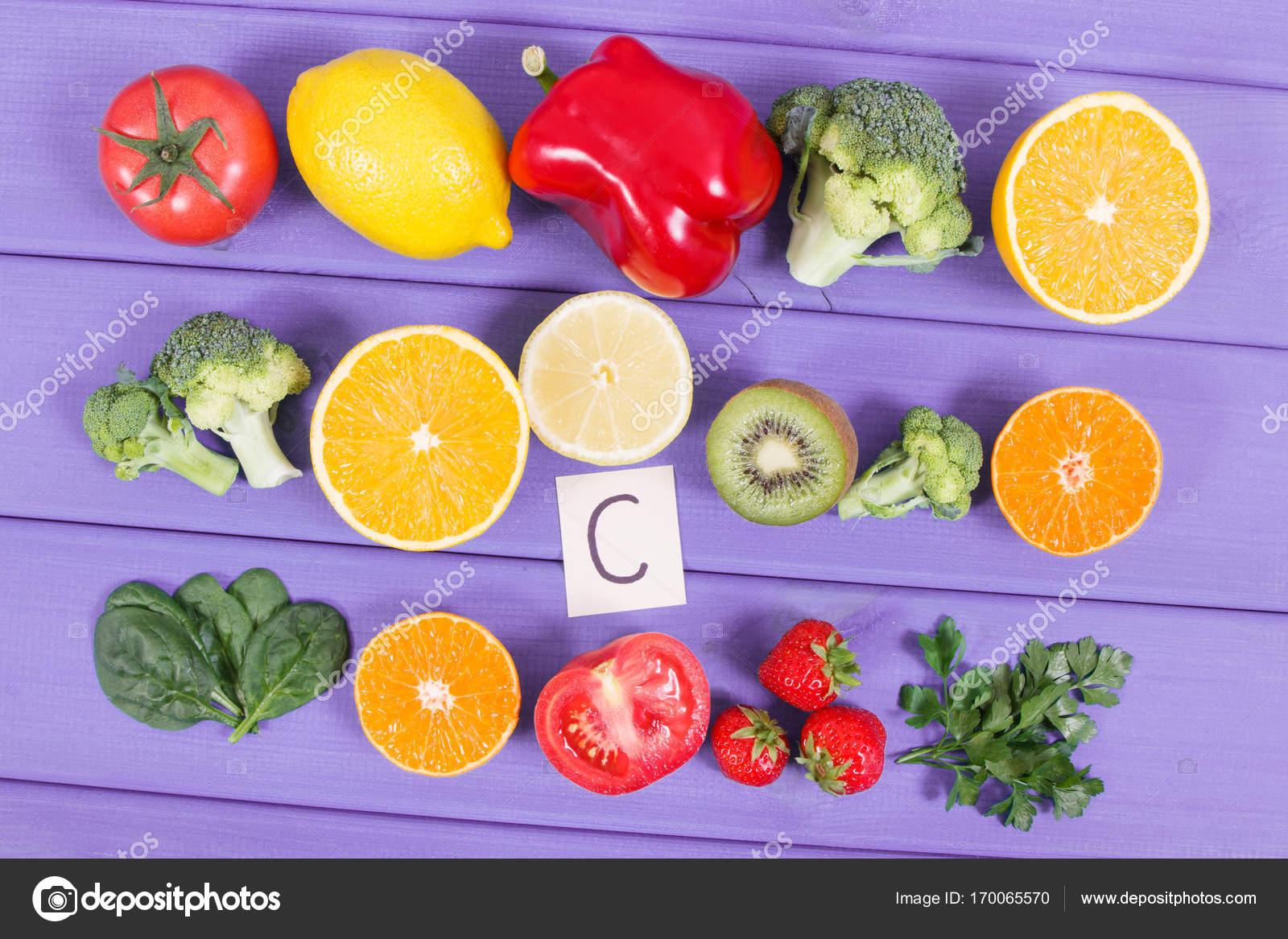 vegetales con vitamina c