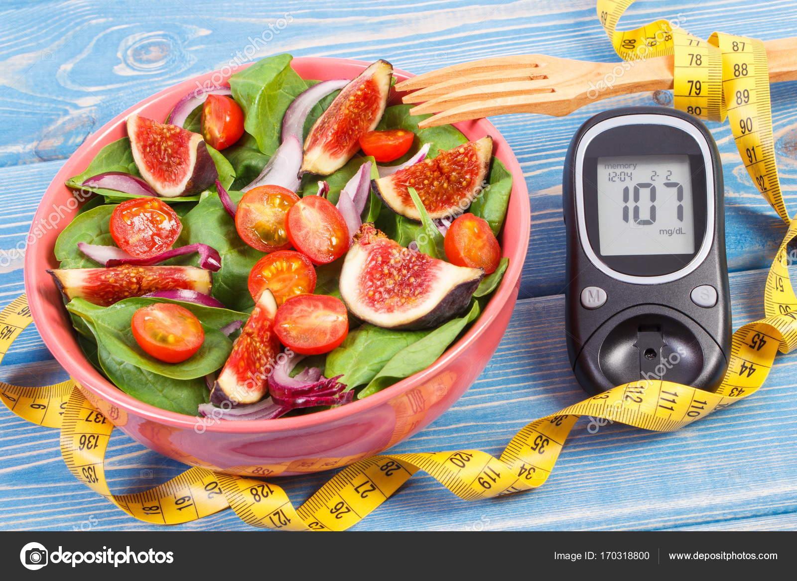 Spuntini Sani E Diabete : Insalata di frutta e verdura e controllo glicemico con la misura
