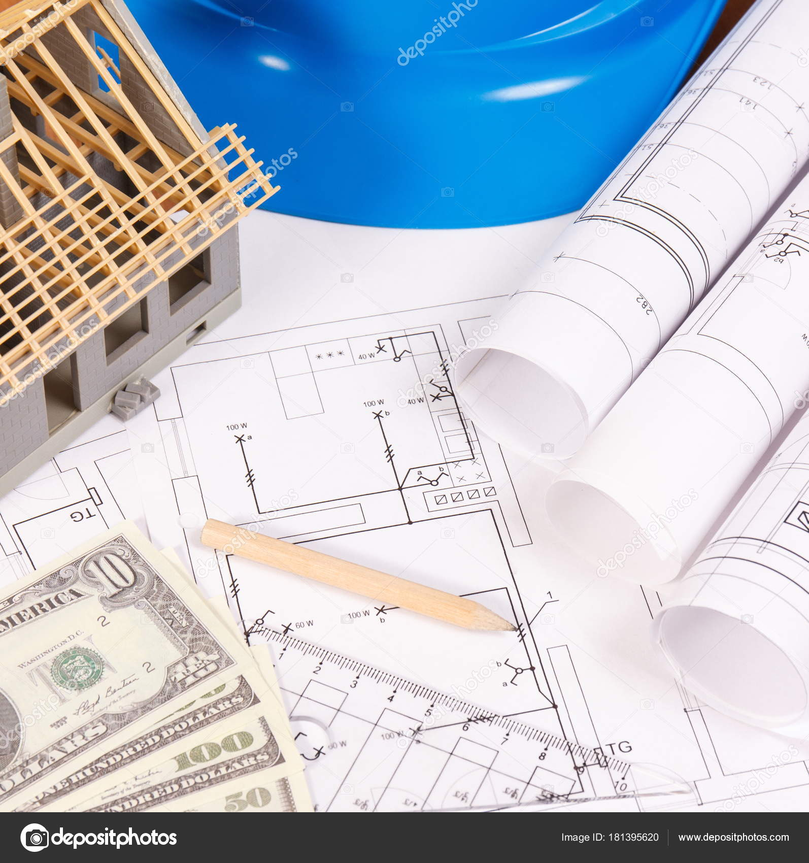 Currencies Dollar Electrical Diagrams Accessories For Engineer Engineering Jobs And House Under Construction Building