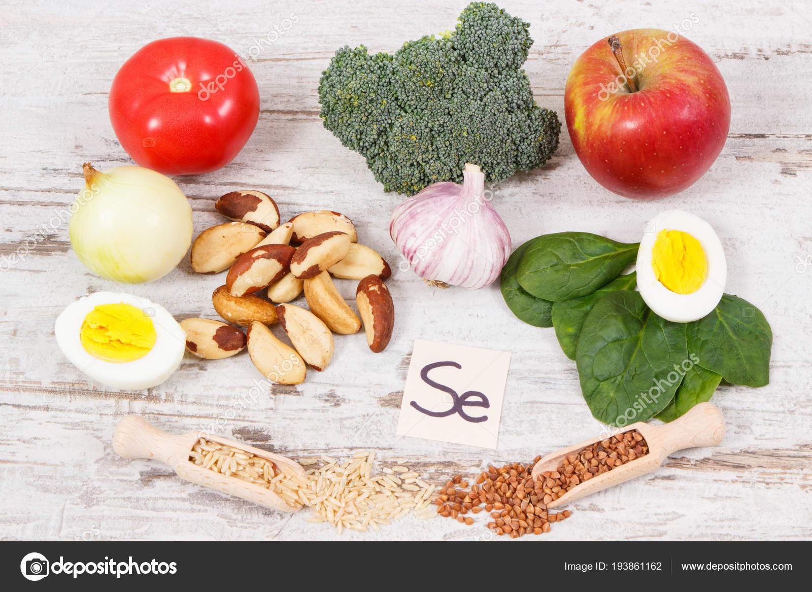 Селен в натуральных продуктах