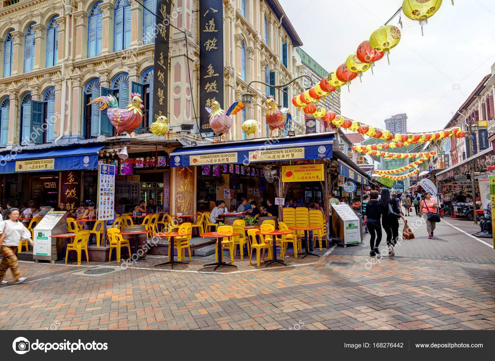 Einkaufen in Singapur Chinatown — Redaktionelles Stockfoto ...