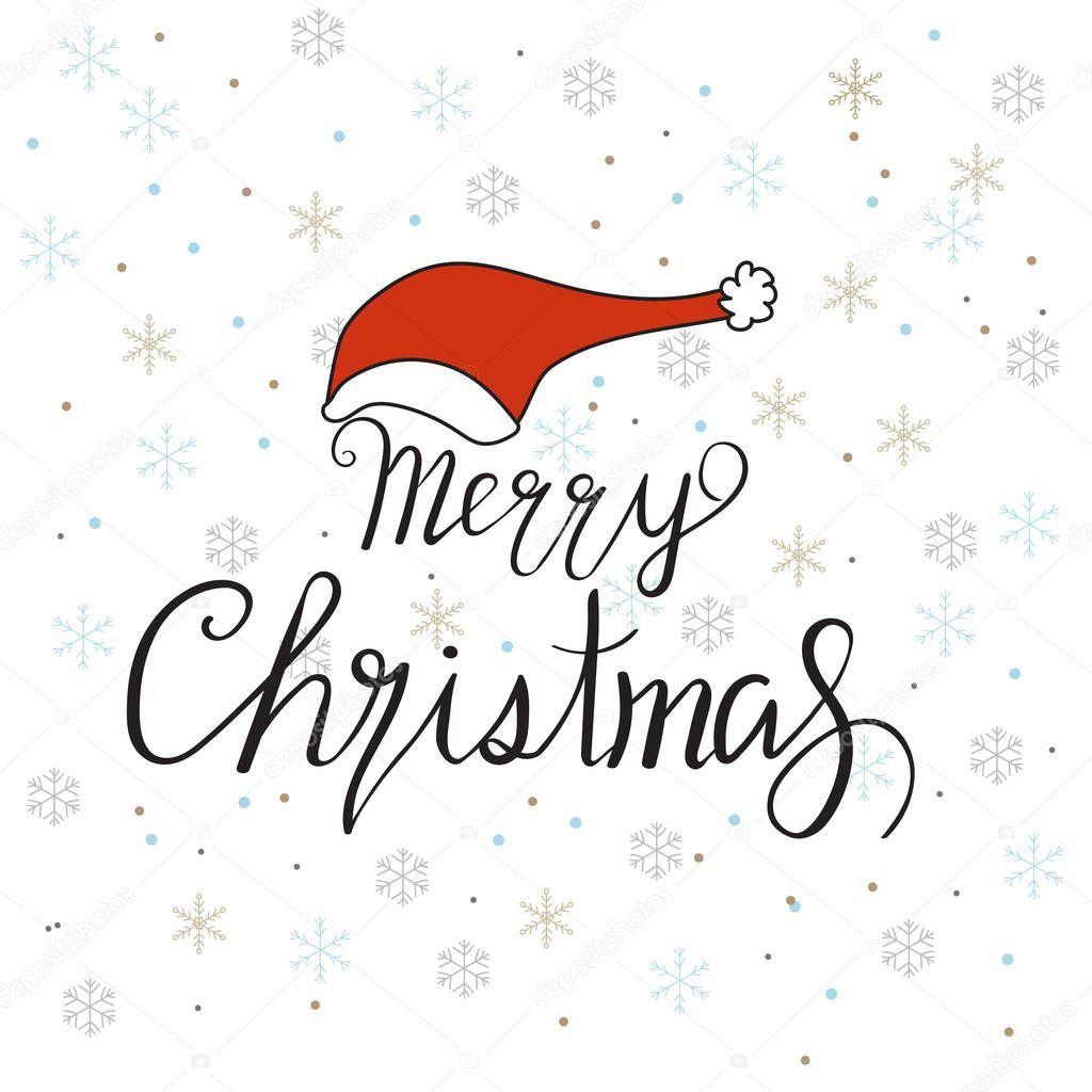 frohe weihnachten gold glitzernden hand zeichnen design mit schriftzug stockvektor poopkapap