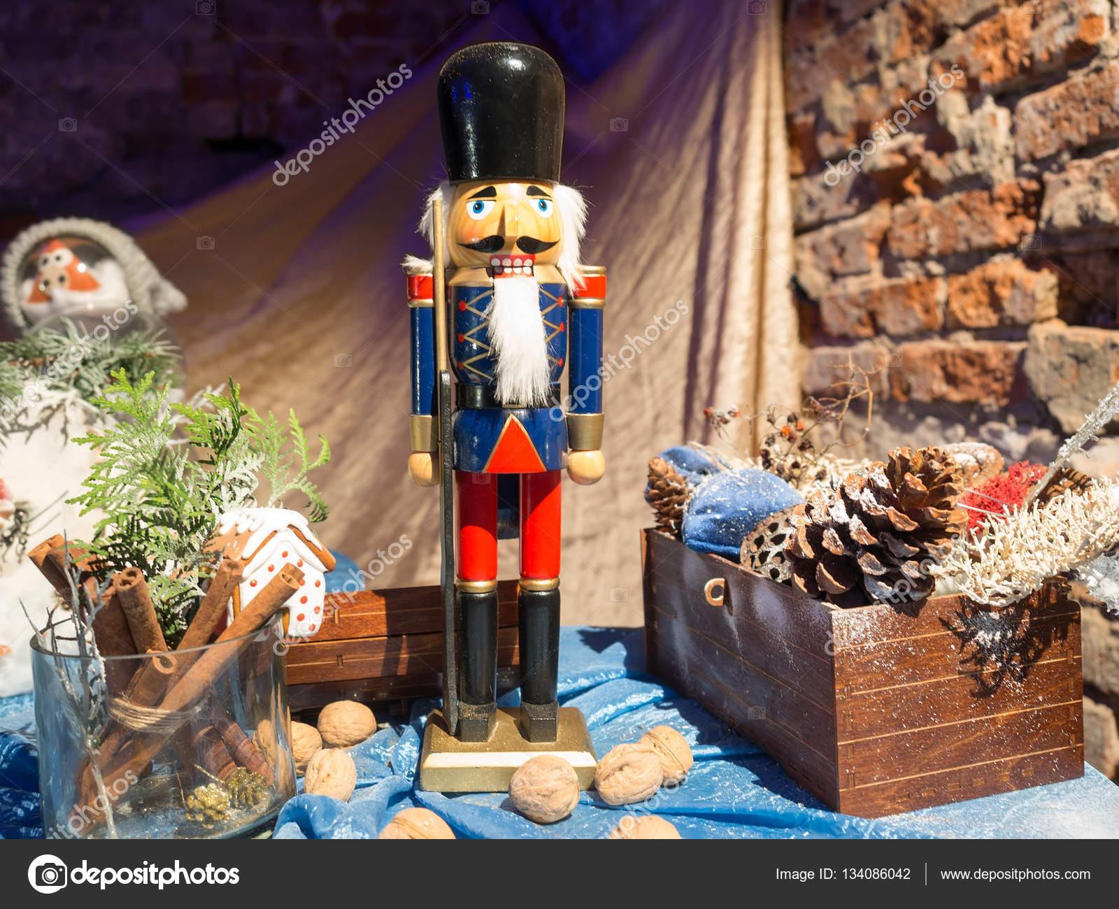 Christmas Decoration with a Nutcracker — Stock Photo © alexey19781 ...