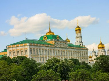 View of the Moscow Kremlin, Grand Kremlin Palace