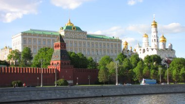 View of the Moscow Kremlin, Grand Kremlin Palace