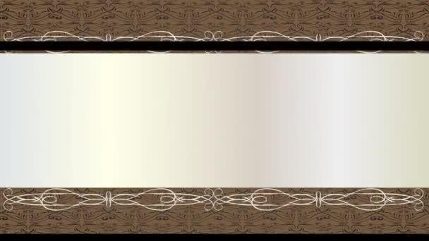 Lineáris méretezés Animáció Klasszikus kártya konceptuális művészet fekete rétegek felett és alatt egy fehér egy régi divat tipográfia a központban