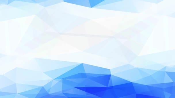 Interlaced Kaleidoscopic Motion of 3D Concept Science Úgy néz ki, mint Chill folyadék olvadt az utolsó rész a Cool Frosted Land
