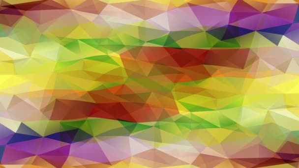 Diagonal Waiving Of Wow Effect Abstract Made With Small Triangular Pieces Assembled Together Creating Pyramids And Polygons Using A Striking Color Palette