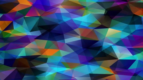 Immersive Zoom Effect Of 3D Polygon Similar Towards Miniature Scale Prisma Pyramids Creating A Multicolor Channel Of Geometric Forms