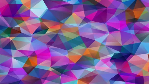 Immersive Zoom Effect Of Magnificent Abstraction Mosaic With Geometrical 3D Hexagons And Pyramid Forms Created With Tiny Triangles Of Opposite Colour Put Together