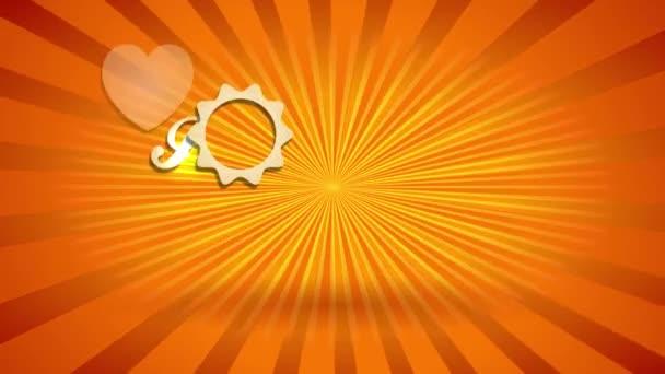Ugráló kombinálva tehetetlen diák I Love Summer Holidays Írta Golden Levelek A napsütéses háttér Fancy Tourist Agency vagy üzleti kapcsolódó koncepció