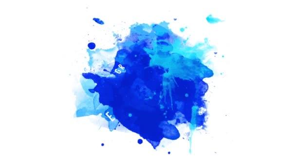 Prvek pružiny Přesouvání Objednávka na složení velký vánoční prodej Okno Obchod propagace Umění s bílým designem se zaoblenou vločkou na tmavě modré akvarel skvrny