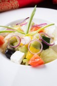 Frissen készített görög saláta
