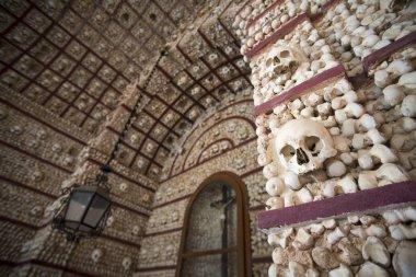 the capela dos Ossos at the Igreja do Carmo in Portugal
