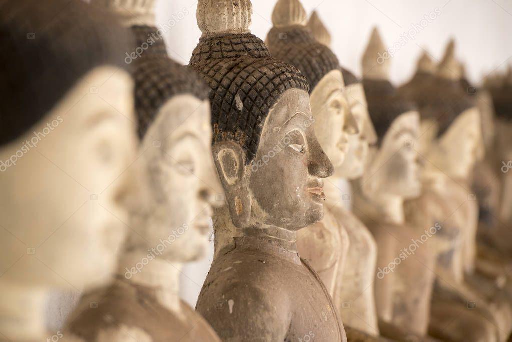 the wat Si Khom Kham in Thailand