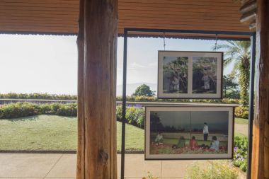 Pictures in frames,  Doi Tung Royal Villa