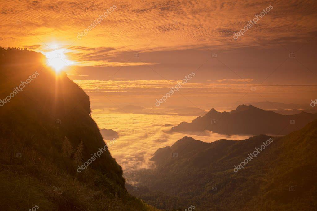 beautiful landscape of Cliff