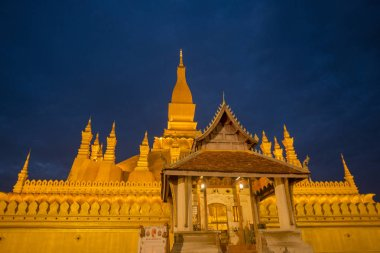 the Pha That Luang, Ventiane