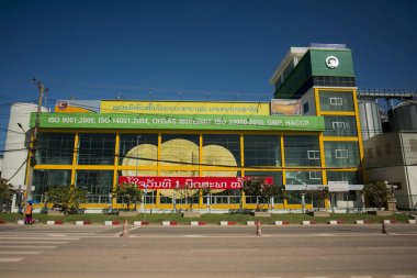 Beer Lao Brewery in the city of Vientiane
