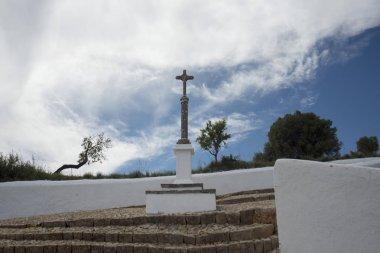 the church of Santuario de nossa senhora de piedade in Portugal
