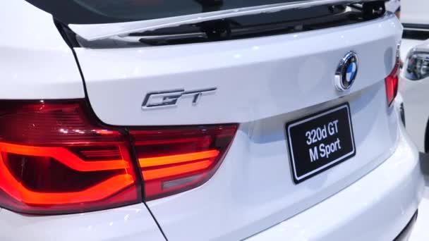 Bmw 320d Gt Sport On Display Na autosalonu Bangkok International Thailand 2018.