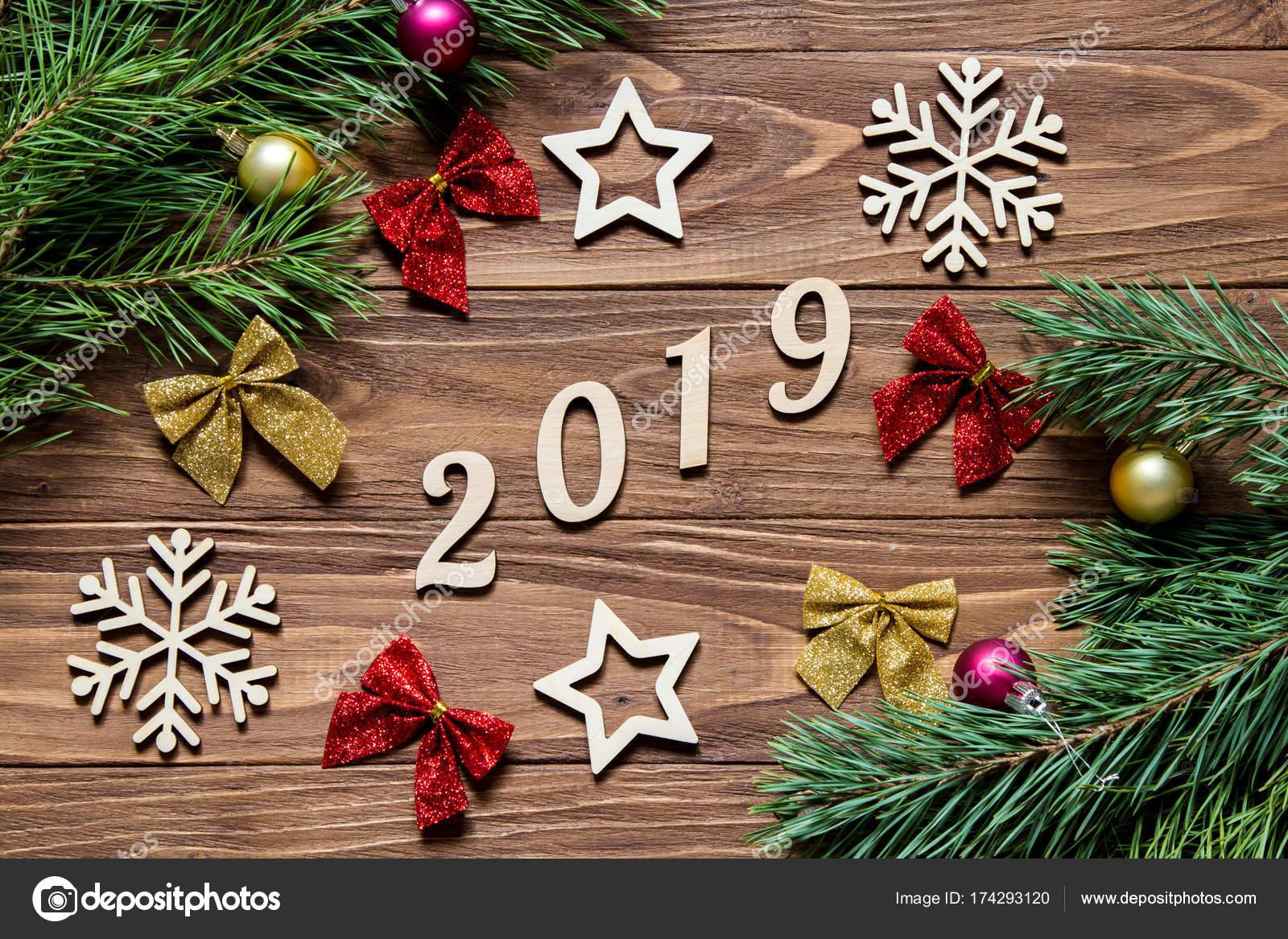 Decorazioni Natalizie Tavola 2019.Originale Esposizione Di Decorazione Di Natale Sulla Tavola