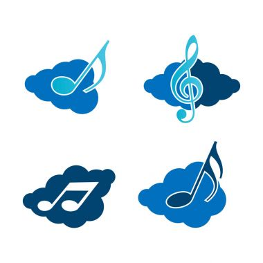 Clouds and music.