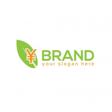 Leaf and Yuan logo vector